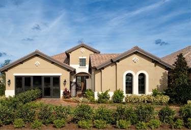 Move-In-Soon Home exterior at TwinEagles. Now available