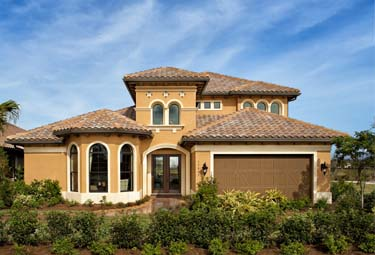 Single Family Home exterior at TwinEagles in Naples, now available