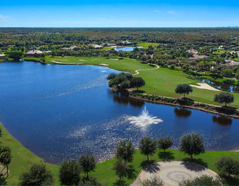 TwinEagles golf course, in Naples, Florida