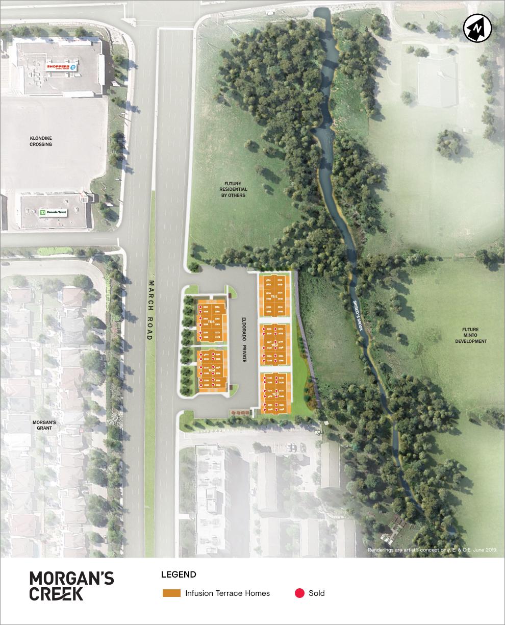 Morgan's Creek Site Plan
