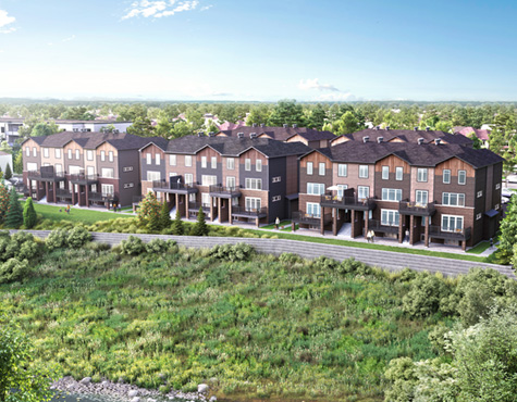 Infusion Terrace Homes Rendering