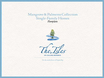 Mangrove Palmetto homes cover