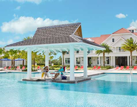 The Isles of Collier Preserve beach club in naples