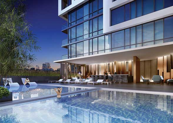 Minto Westside will offer party rooms, courtyards and indoor and outdoor lounges.