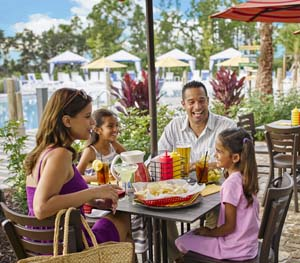 Created for the whole family to enjoy, outdoor eateries and resort feelings in Orlando, Florida.