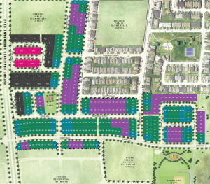 Site Plan, Homes For Sale At Quinn's Pointe in Barrhaven Ottawa