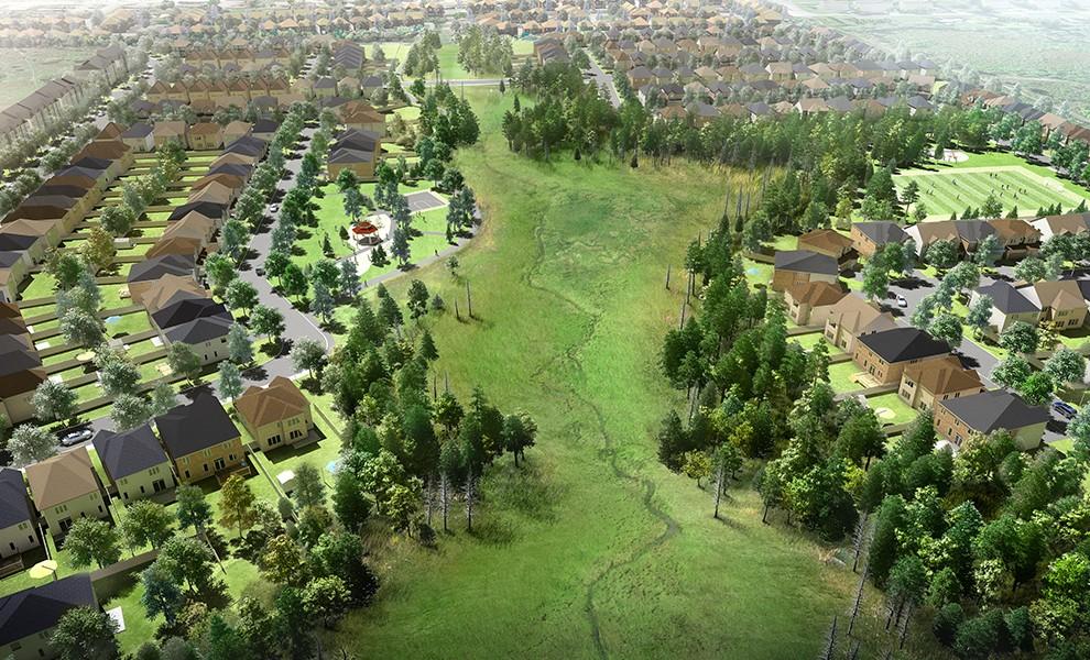 Neighbourhood rendering
