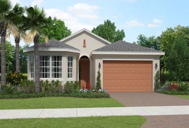 Single Family homes at LakePark are 2-3 bedrooms, and are open concept.