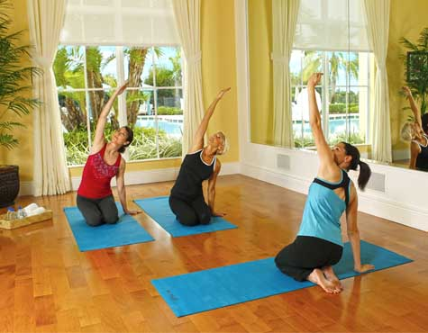 Yoga classes held at LakePark