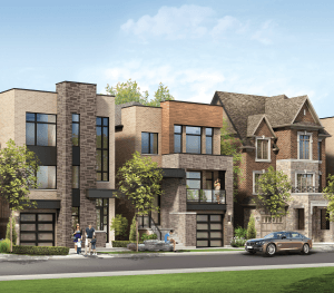 traditional single family homes on sale in Etobicoke at Kipling Ave and Rathburn Rd.