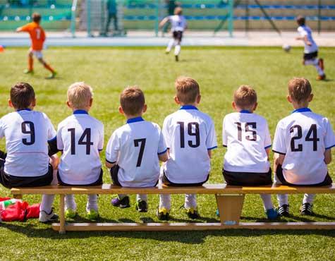 Kids playing soccer at Westlake