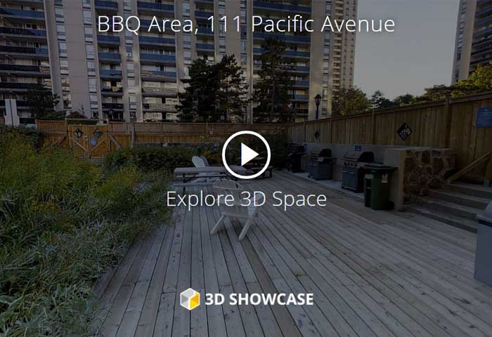 High Park Village Virtual Tour of BBQ Area