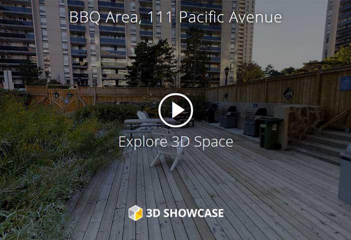 High Park Village Virtual Tour of BBQ Area