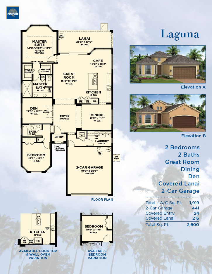 Sun City Center Laguna Model Sarasota New Homes Minto