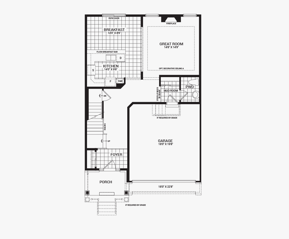Orleans Home Builders Floor Plans: Avalon - The Algonquin - New Homes In Orleans, Ottawa