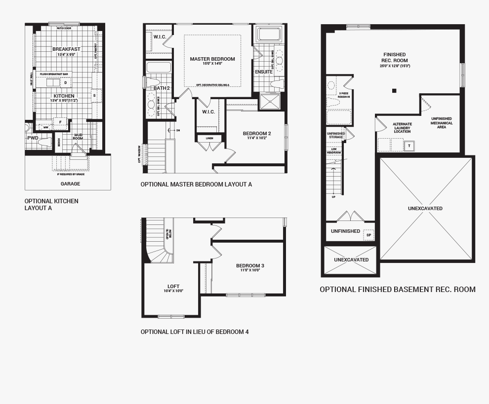 Orleans Home Builders Floor Plans: Avalon - The Balsam - New Homes In Orleans, Ottawa