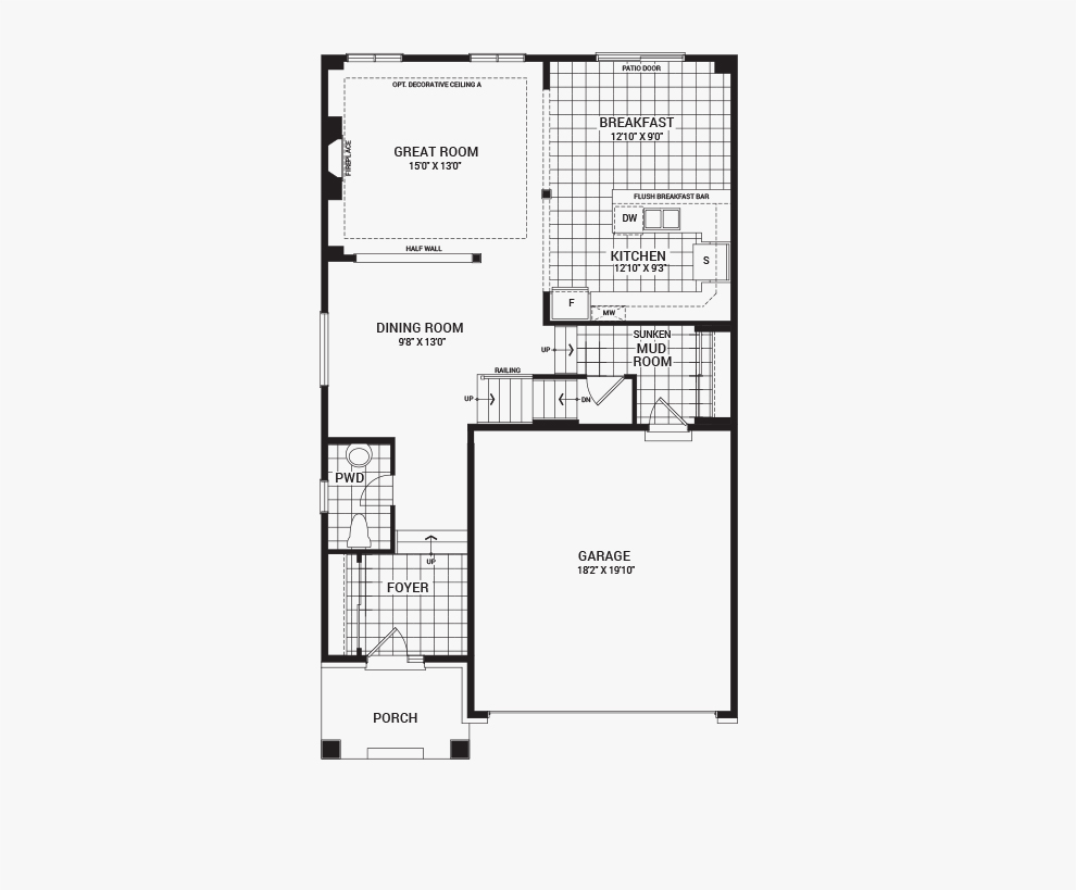 Orleans Home Builders Floor Plans: Avalon - The Granby - New Homes In Orleans, Ottawa