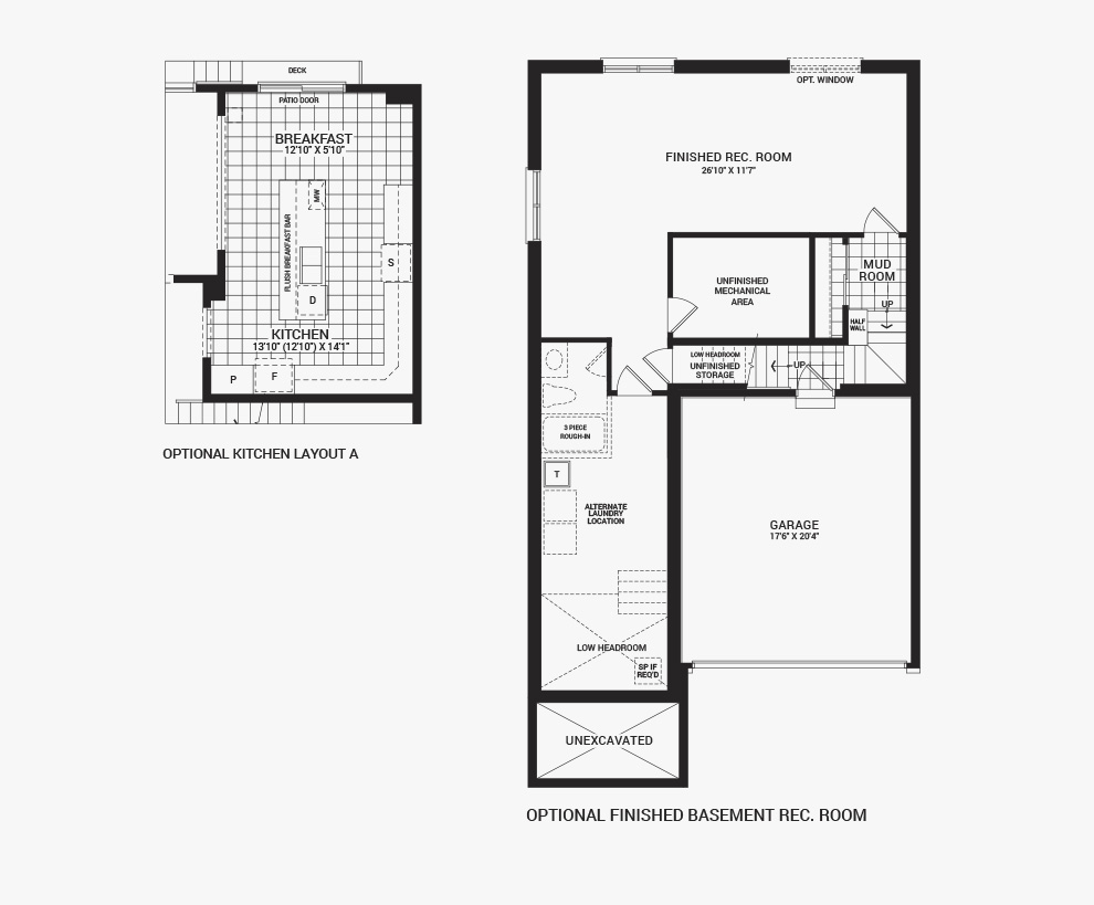 Avalon the killarney new homes in orleans ottawa minto for Rembrandt homes floor plans