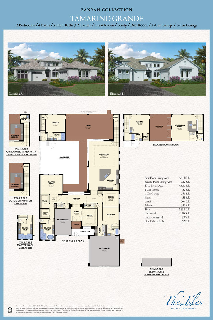 Tamarind Grande New Minto Luxury Homes In Naples, FL