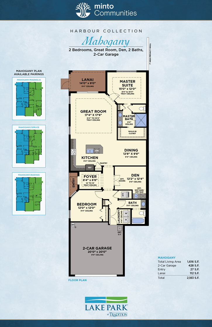 Mahogany Luxury Villas By Minto Port St Lucie Florida