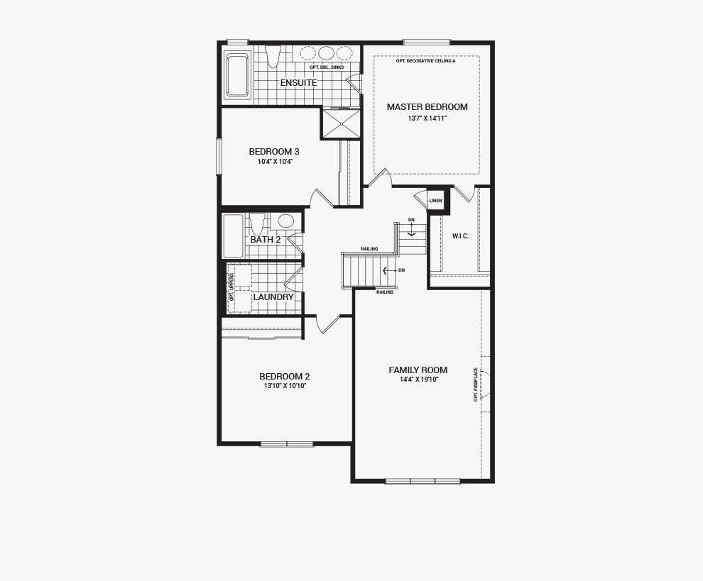 Potters key the granby ottawa west homes minto for Orleans builders floor plans