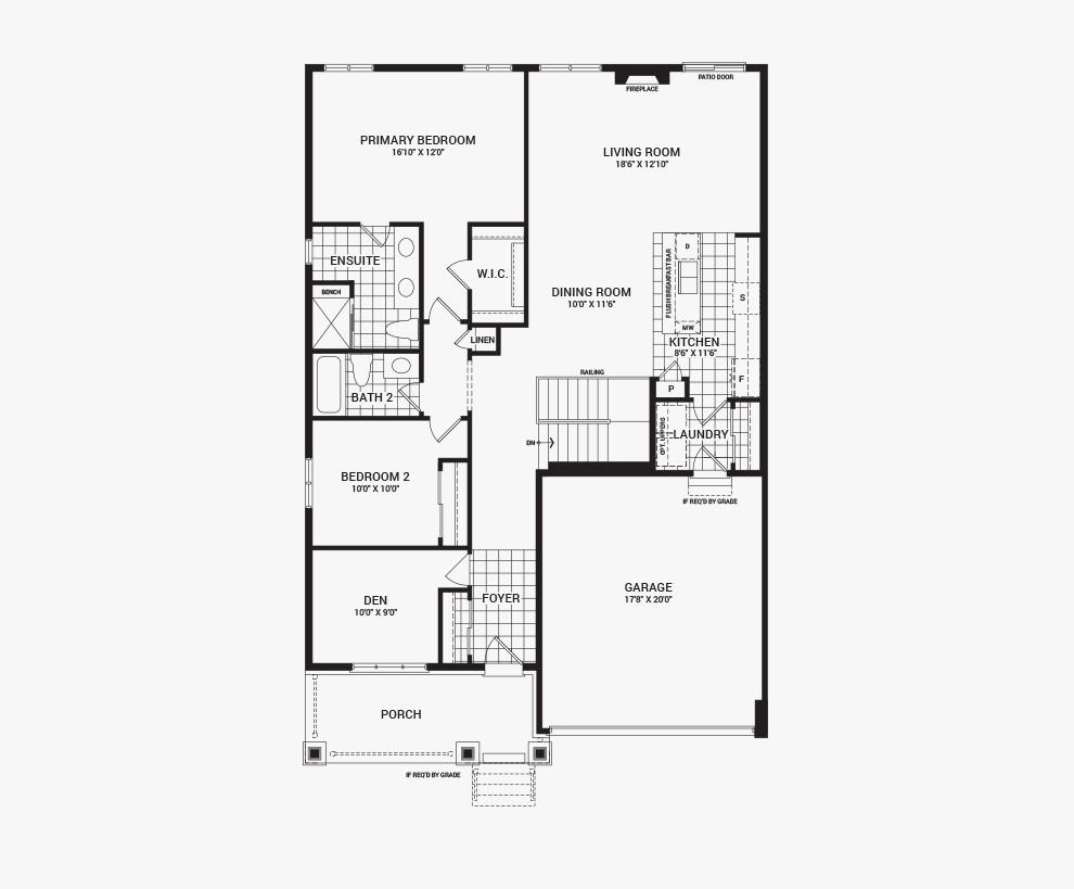 Avalon the banff 43 39 single detached orleans ottawa for Orleans builders floor plans
