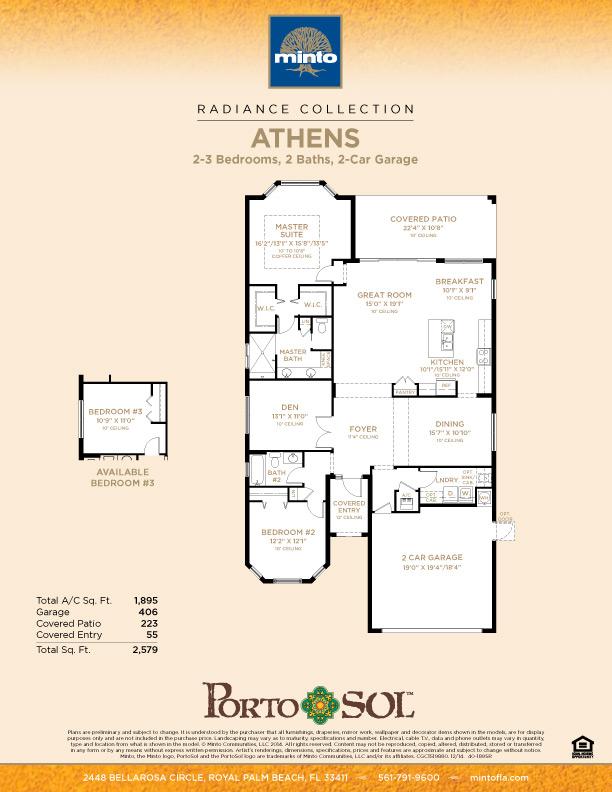 Portosol Athens Model Home Palm Beach Florida Minto