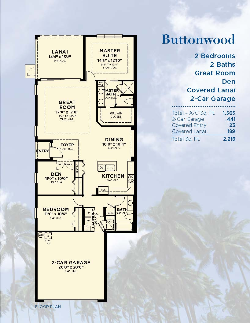 Minto S Buttonwood Model Paired Villas Sarasota New Homes