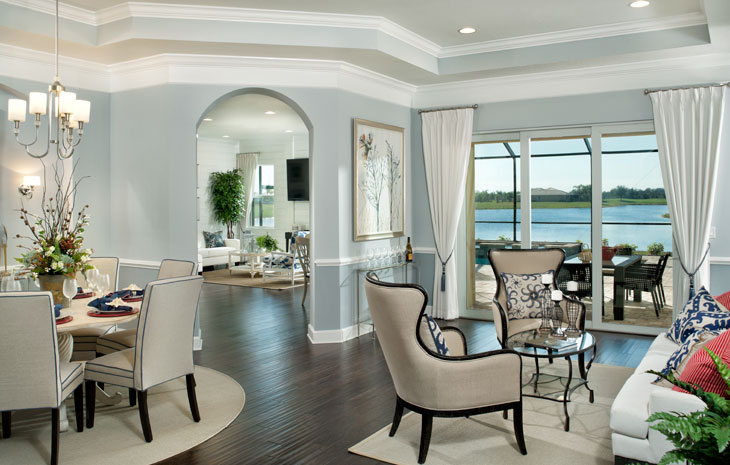 Sun City Center Solana Model Tampa New Homes Minto