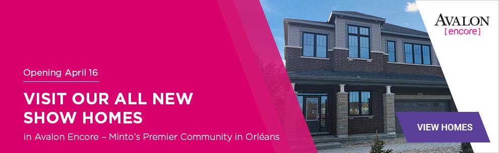 New Homes in Orleans - Ottawa East - Avalon