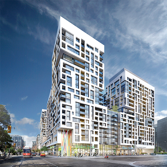 Located at Front and Bathurst in downtown Toronto, Minto Westside is close to it all. Now on sale.