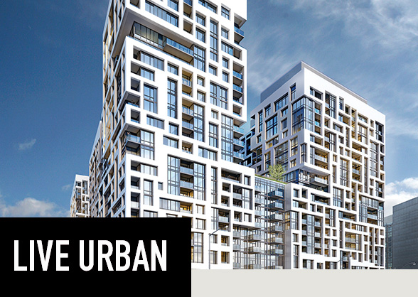 Located in downtown Toronto, and designed by Wallman Architects, Minto Westside offers amazing city views.