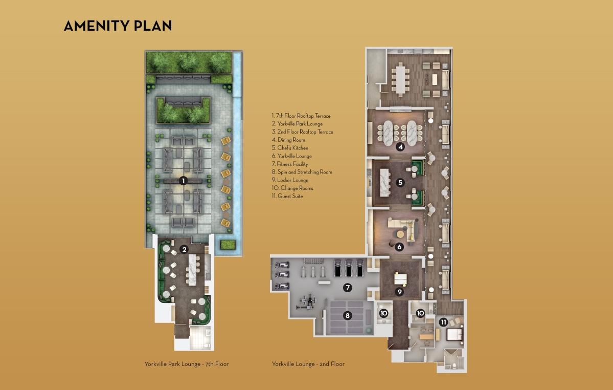 amenity plan