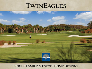 TwinEagles single family and estate home brochure