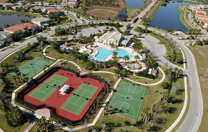 TownPark's resort-style amenities just a short drive from home