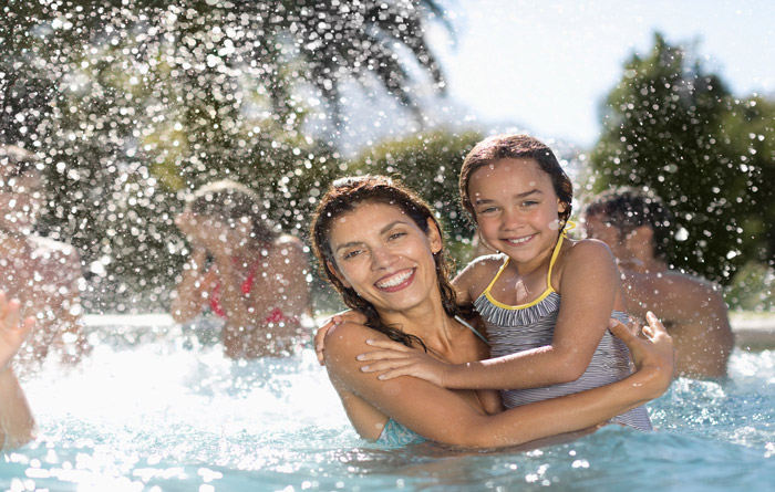 Splash in the pool and enjoy the Florida sunshine year-round