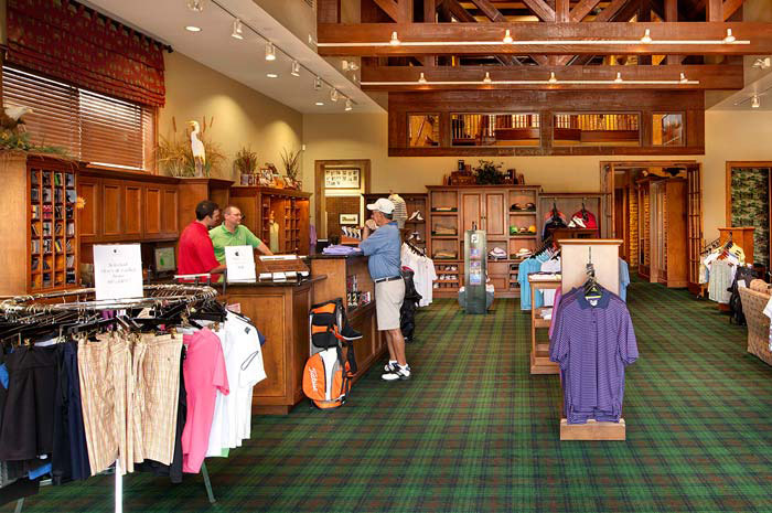 The Pro Shop is a golfers' dream steps away from home