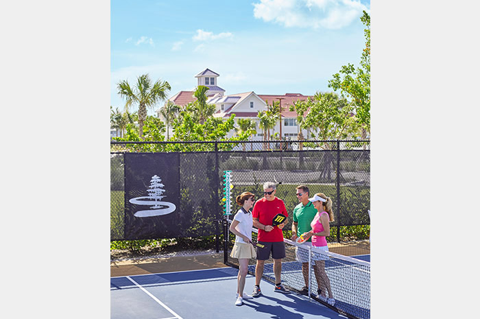 Pickleball courts and Sponsor of the 2016 Championship Pickleball Tournament held in Naples