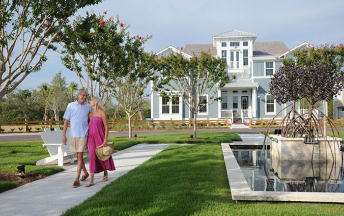 Pick up your keys to one of the Old, Classic Florida destinations. (Island Coach Homes Shown)