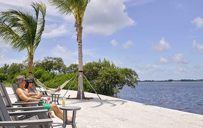Enjoy your own private beach on Florida's last private island.