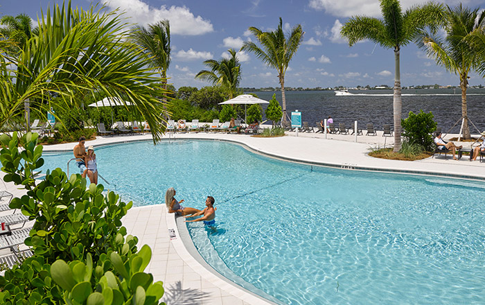 Resort-style pool for taking in the Florida sunshine all year-round.
