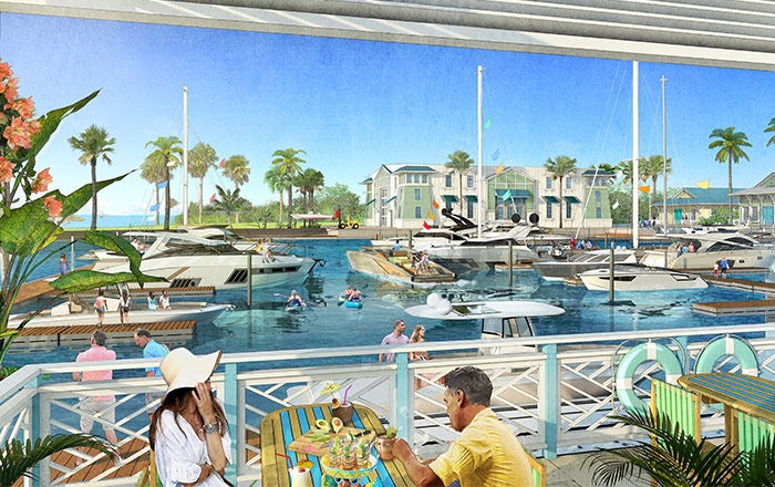 One Particular Harbour Marina by Margaritaville