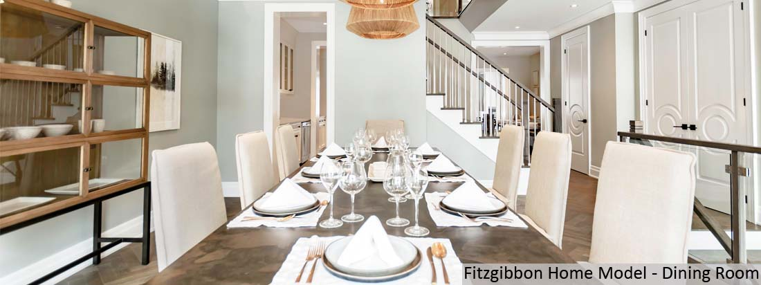 Fitzgibbon Model Home - Dining Room