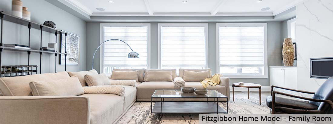 Fitzgibbon Model Home - Family Room