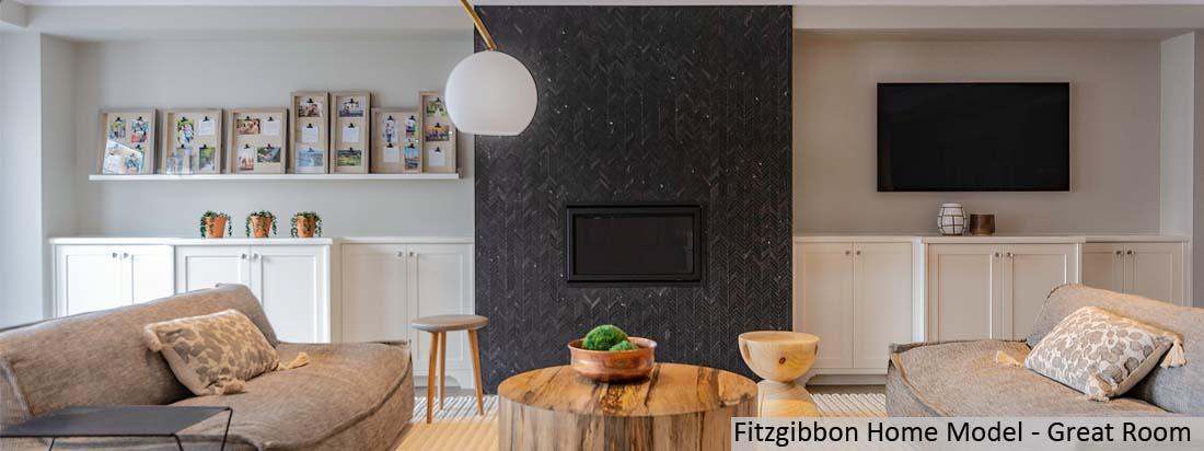 Fitzgibbon Model Home - Great Room