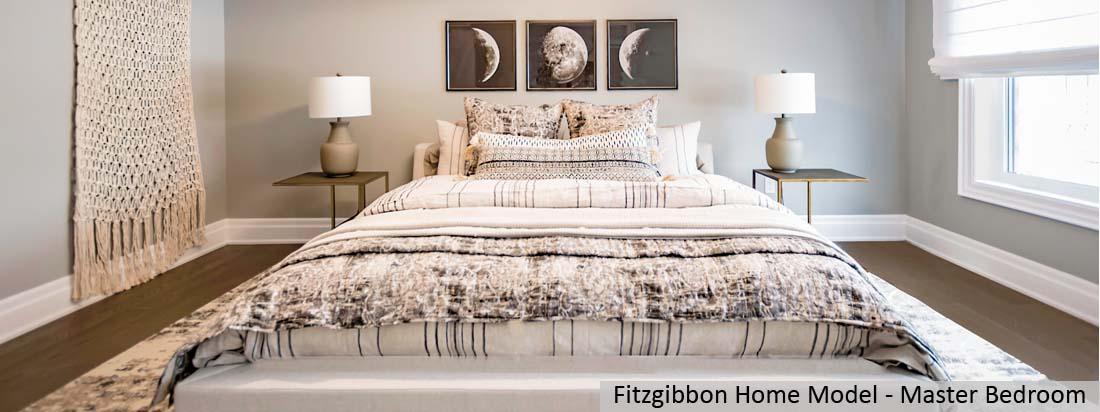 Fitzgibbon Model Home - Master Bedroom