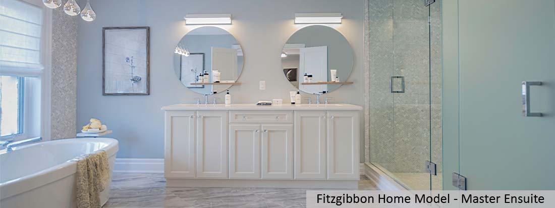 Fitzgibbon Model Home - Master Ensuite