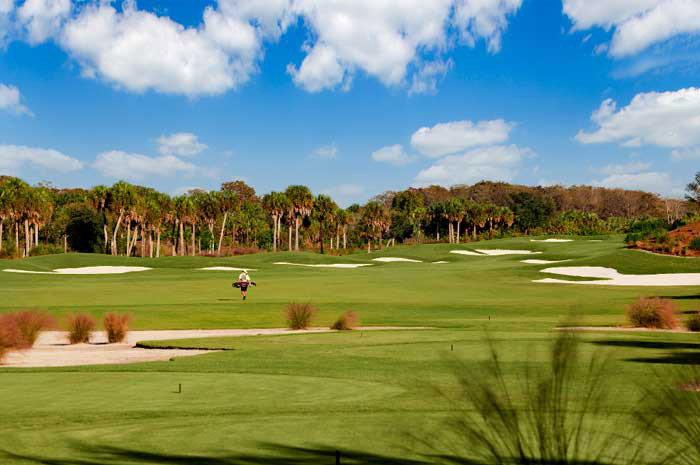 Enjoy top rated golf courses designed by Jack Nicklaus and his son