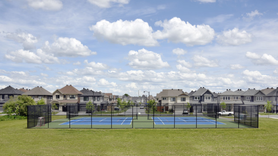 Quinn's Pointe tennis court