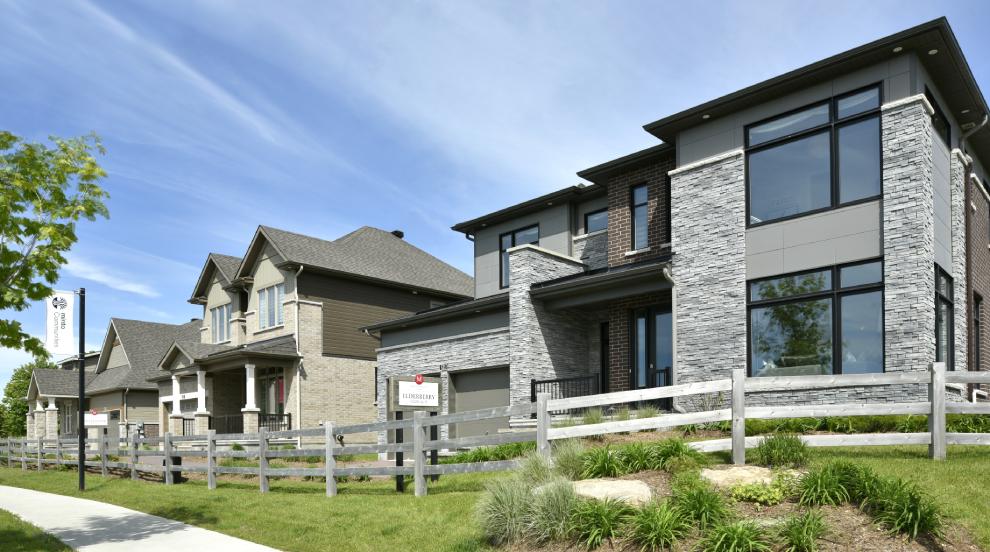 Mahogany, Manotick Model Homes